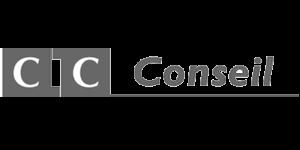 Logo CIC Conseil - Partenaire du Club IN.